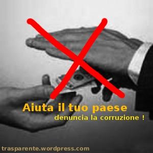 Denuncia la corruzione !